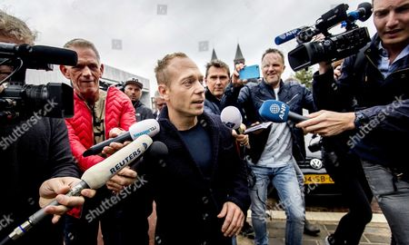 Dutch Gymnast Yuri Van Gelder 33 Arrives at the Courthouse in Arnhem 12 August 2016 Gelder who was Sent Home From the Olympic Games in Rio For Going out and Drinking Beers Without Consent of the Team Management is Taking Legal Action Against the Dutch Olympic Committee He Plans to Continue Training in the Hope He Will Be Allowed to Return to Rio in Time to Compete in Next Week's Still Lrings Final Netherlands Arnhem
