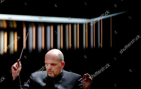 Dutch Conductor Jaap Van Zweden During a Benefit Performance For the Papageno Foundation in the Rai Amsterdam the Netherlands 05 April 2016 It was Van Zweden's First Performance As Conductor of the New York Philharmonic in the Netherlands Netherlands Amsterdam