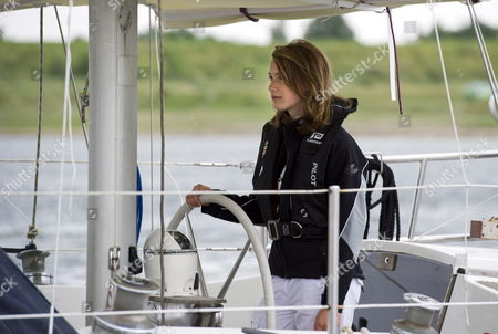 Dutch Fourteen Year-old Laura Dekker Sets Sail From the Port in Den Osse Zeeland the Netherlands 04 August 2010 Dutch Teenager Laura Dekker Embarked on an Attempt to Become the Youngest Person to Sail Solo Around the World the Current Record As the Youngest to Sail Around the World Solo is Held by Jessica Watson of Australia who Completed Her Voyage Last May 15 Three Days Before Her 17th Birthday Dekker Turns 17 in September 2012 Netherlands Brouwershaven