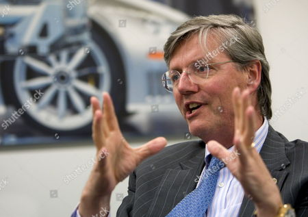 Spyker Chief Executive Victor Muller Adresses a Press Conference After a Shareholders Meeting in Zeewolde the Netherlands on 22 April 2010 Victor Muller Said Saab's Break Even Point Should Be Sales of 85 000 Cars a Year by 2012 Netherlands Zeewolde