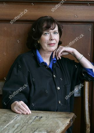 A Picture Dated 07 April 2005 Shows Dutch Actress Sylvia Kristel Posing For Photographs in Amsterdam the Netherlands Kristel who Starred in the Iconic 1974 Erotic French Film 'Emmanuelle' and Over 50 Other Movies Died in Her Sleep Overnight After Suffering From Cancer Her Agent Said on 18 October 2012 She was 60 Netherlands Amsterdam