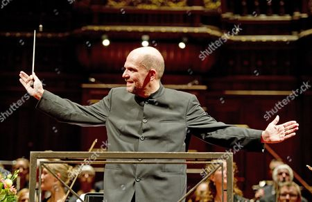 A Picture Made Available on 13 November 2011 Shows Dutch Conductor Jaap Van Zweden During a Goodbye Concert to the Radio Filharmonisch Orquesta in Amsterdam the Netherlands 12 November 2011 Jaap Van Zweden Worked For the Orquesta Since 2005 Netherlands Amsterdam
