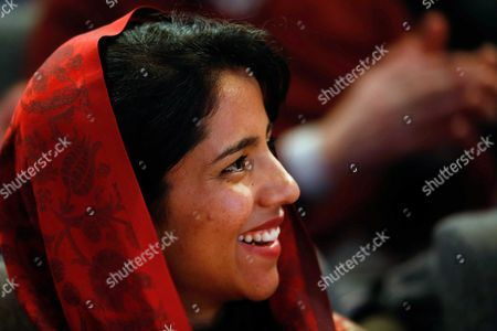 Afghan Refugee and Rapper Sonita Alizadeh Smiles Prior to the Screening of the Documentary Film 'Sonita' at the International Documentary Filmfestival Amsterdam (idfa) in Amsterdam the Netherlands 23 November 2015 the Documentary Tells the Story of Sonita Alizadeh 19 who was Just Ten Years Old when Her Muslim Parents First Attempted to Sell Her Into Marriage and who is Now an Activist Against Forced Marriages Netherlands Amsterdam
