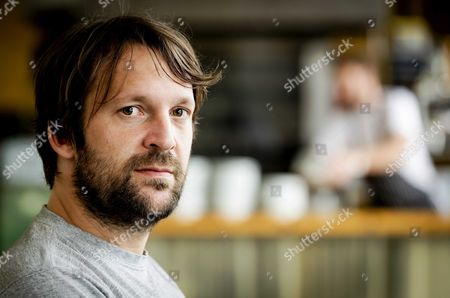Stock Photo of Danish Chef Rene Redzepi the Co-owner of the Restaurant Noma in Copenhagen Poses For the Photographer Prior to the 'Ants on a Shrimp' Premiere in Amsterdam the Netherlands 01 September 2016 the Documentary is About the Chef-cook who Along with His Team Enters the Biggest Culinary Experiment in His Life Netherlands Amsterdam