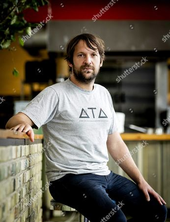 Danish Chef Rene Redzepi the Co-owner of the Restaurant Noma in Copenhagen Poses For the Photographer Prior to the 'Ants on a Shrimp' Premiere in Amsterdam the Netherlands 01 September 2016 the Documentary is About the Chef-cook who Along with His Team Enters the Biggest Culinary Experiment in His Life Netherlands Amsterdam