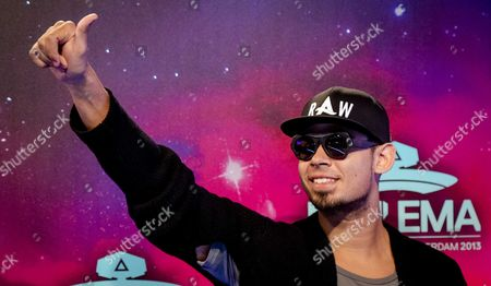 Stock Image of Nick Van De Wall Aka Dj Afrojack on the Red Carpet Prior to the Mtv Europe Music Awards 2013 Ceremony in the Ziggo Dome Amsterdam the Netherlands 10 November 2013 Netherlands Amsterdam