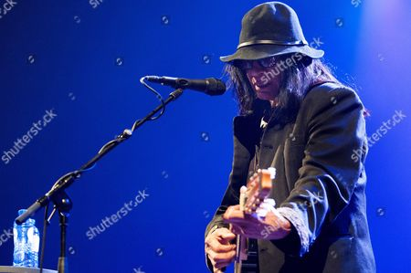 Us Folk Musician Sixto Rodriguez Performs on Stage During a Concert in the Heineken Music Hall in Amsterdam the Netherlands 01 July 2013 Netherlands Amsterdam