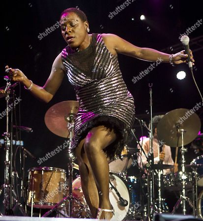 Us Soul Singer Sharon Jones Performs Performs at the North Sea Jazz Festival in Rotterdam the Netherlands 13 July 2014 Netherlands Rotterdam