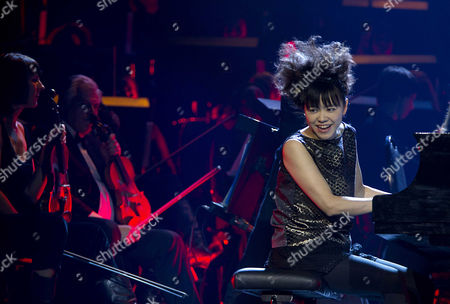 Japanese Jazz Pianist Hiromi Uehara Performs During the Night of the Proms at the Ahoy in Rotterdam the Netherlands 22 November 2013 the Annual Series of Concerts Runs Until 23 November Netherlands Rotterdam