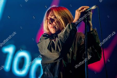 Singer Beth Gibbons of British Band Portishead Performs During the 'Lowlands' Music Festival in Biddinghuizen the Netherlands 17 August 2014 the Annual Event One of the Biggest Music Festival in the Netherlands Runs From 15 to 17 August Netherlands Biddinghuizen
