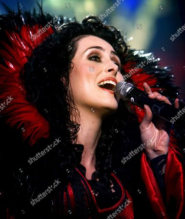Editorial photo of Netherlands Music Within Temptation - Feb 2008