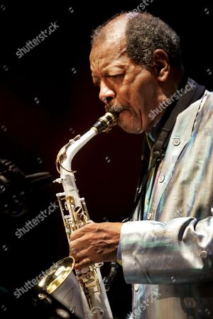 Ornette Coleman Performs on Stage During a Concert at the North Sea Jazz Festival 14 July 2007 in Rotterdam Netherlands Rotterdam