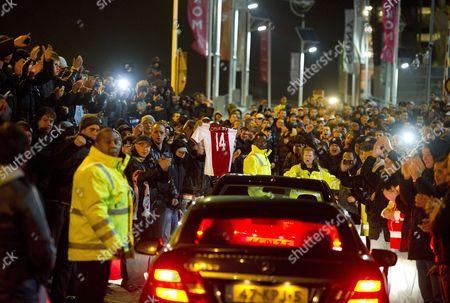 Editorial photo of Netherlands Soccer Ajax Crisis - Nov 2011