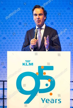 Klm Ceo Camiel Eurlings Speaks During the Start of the Klm Experience at Schiphol Airport Near Amsterdam the Netherlands 04 October 2014 the Two-day Event For Employees of Dutch Carrier Klm Their Family and Friends Shows the History of the Airline and Marks It's 95-year Existence on 07 October 2014 Netherlands Schiphol