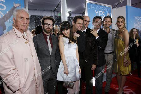 Cast, Producer Richard D. Zanuck and Director Peyton Reed