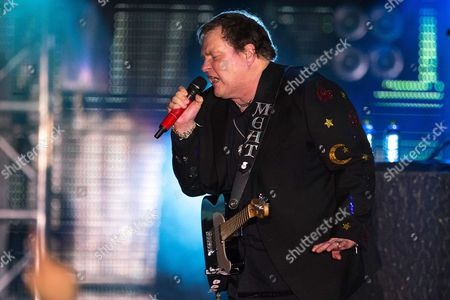 Us Singer Meat Loaf Whose Real Name is Marvin Lee Aday Performs on Stage in the Ijsselhallen in Zwolle the Netherlands 11 May 2013 Evening the Concert is Part of the Artist's Final Tour Entitled 'Last at Bat Farewell Tour' Netherlands Zwolle
