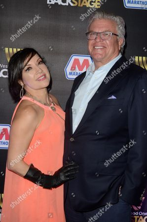 Margo Rey and Ron White