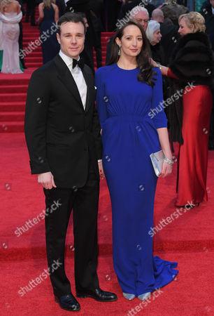 Stock Picture of Rupert Evans and Olivia Bennett
