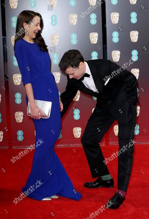 Editorial picture of EE BAFTA British Academy Film Awards, Arrivals, Royal Albert Hall, London, UK - 12 Feb 2017