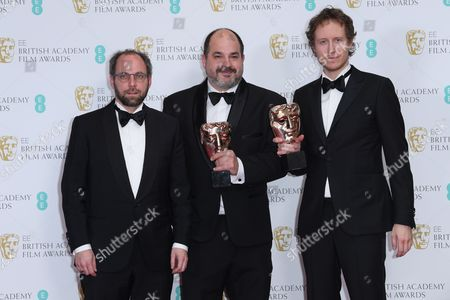 Gabor Sipos, Laszlo Nemes and Gabor Rajna - Film Not in the English Language - 'Son of Saul'