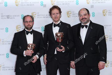Editorial photo of EE BAFTA British Academy Film Awards, Press Room, Royal Albert Hall, London, UK - 12 Feb 2017