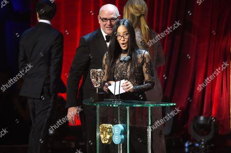 Howard Barish winner of the 'Documentary' award for '13th'