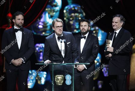 Robert Legato, Dan Lemmon, Andrew R. Jones and Adam Valdez, winners of the Special Visual Effects award for 'The Jungle Book'