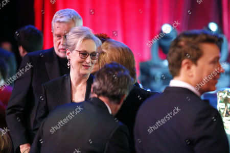 Stock Picture of J Roy Helland and Meryl Streep