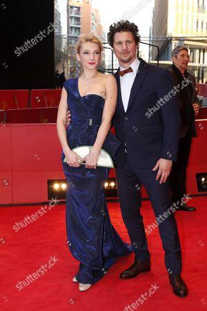 Stock Photo of Alexandra Borbely and Ervin Nagy