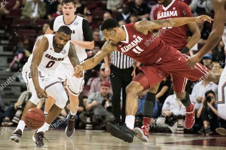 Editorial picture of Alabama South Carolina Basketball, Columbia, USA - 07 Feb 2017