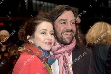 German actress Loretta Stern (L) and her husband Matti Klemm (R) arrives for the premiere of 'The Dinner' during the 67th annual Berlin Film Festival, in Berlin, Germany, 10 February 2017. The movie is presented in the Official Competition at the Berlinale that runs from 09 to 19 February.