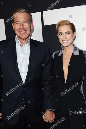 Brian Williams and daughter Allison Williams