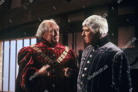 'The Lady's Not For Burning'   TV  Bernard Hepton as Hebble Tyson and Paul Rogers as Edward Tappercoom