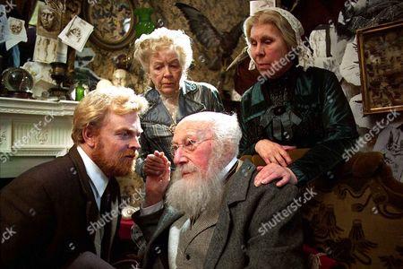 'Sherlock Holmes'   TV   1980's  Memoirs of Sherlock Holmes: The Mazarin Stone  John Garrideb [Gavan O'Herlihy], Nathan Garrideb [Richard Caldicot], Agnes Garrideb [Phyllis Calvert] and Emily Garrideb [Barbara Hicks].