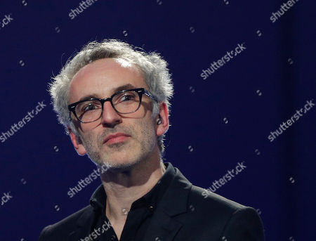 French singer and composer Vincent Delerm performs on stage during the 32nd Victoires de la Musique, the annual French music awards ceremony, in Paris