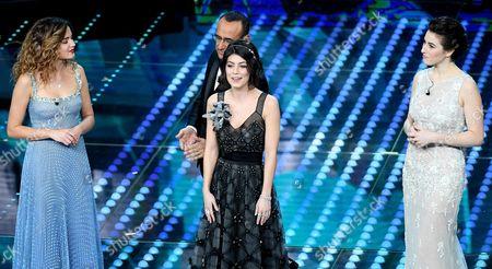 Giusy Buscemi, Alessandra Mastronardi and Diana Del Bufalo