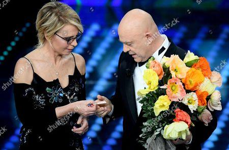 Editorial image of 67th Sanremo Music Festival 2017, Italy - 11 Feb 2017