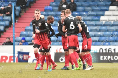 Editorial photo of Oldham Athletic v Coventry City, EFL Sky Bet League 1 - 11 Feb 2017