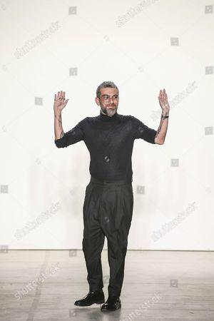 Hakan Akkaya on the catwalk
