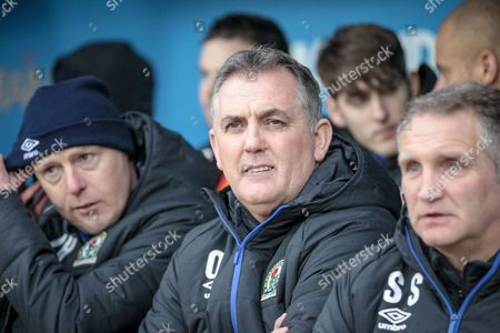Owen Coyle (Manager) (Blackburn Rovers) before the EFL Sky Bet Championship match between Rotherham United and Blackburn Rovers at the AESSEAL New York Stadium, Rotherham