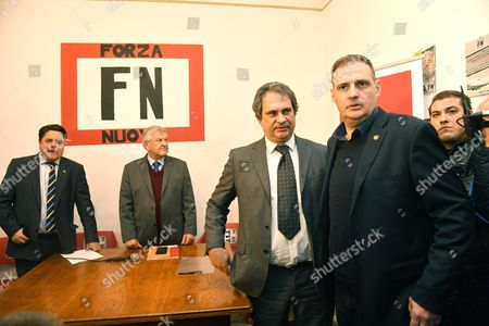 Nick Griffin, Udo Voigt and Roberto Fiore