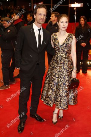 German actor Joerg Hartmann and Austrian actress Nora Von Waldstaetten arrive for the premiere of 'Wilde Maus' (Wild Mouse) during the 67th annual Berlin Film Festival, in Berlin, Germany, 11 February 2017. The movie is presented in the Official Competition at the Berlinale that runs from 09 to 19 February.