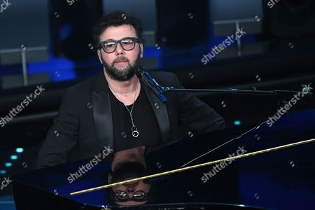 Editorial picture of Evening concert, 67th Sanremo Music Festival, Italy - 11 Feb 2017