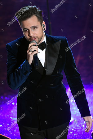 Editorial image of Evening concert, 67th Sanremo Music Festival, Italy - 11 Feb 2017