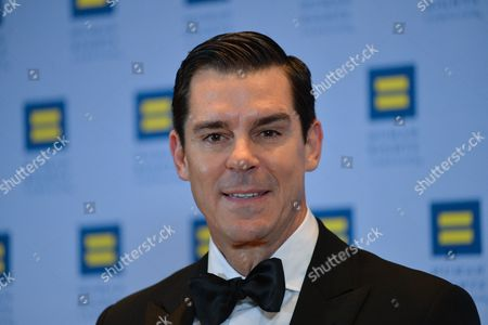 Editorial photo of Human Rights Campaign gala dinner, Arrivals, New York, USA - 11 Feb 2017