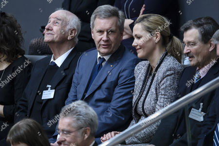 Armin Mueller-Stahl, Christian Wulff and Bettina Wulff