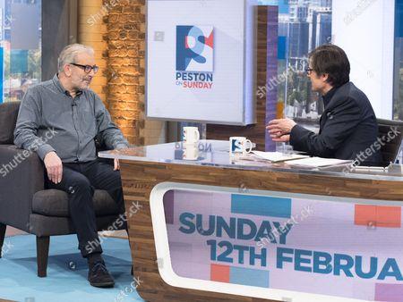 Editorial image of 'Peston On Sunday' TV show, London, UK - 12 Feb 2017