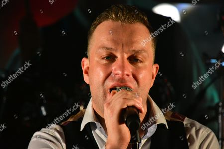 Editorial picture of Ritchie Remo in concert at the Valley Hotel in Fivemiletown, County Tyrone, Ireland - 11 Feb 2017