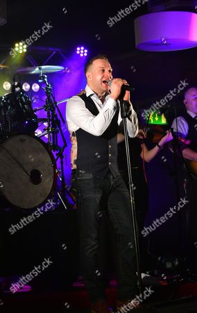 Editorial image of Ritchie Remo in concert at the Valley Hotel in Fivemiletown, County Tyrone, Ireland - 11 Feb 2017
