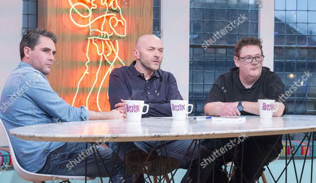 Leveson Wood, Simon Rimmer and Johnny Vegas